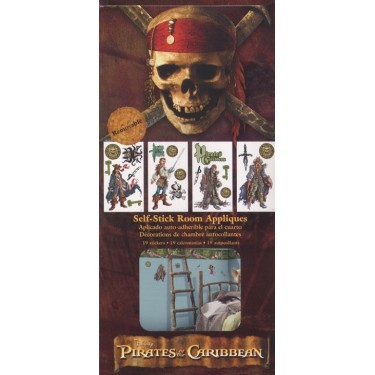 Pirates Of The Caribbean Appliques