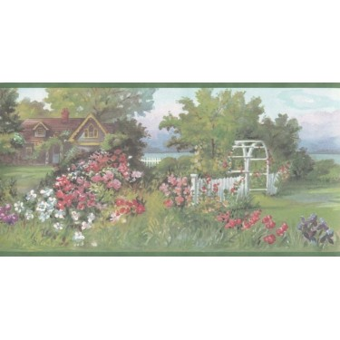 Lakeshore Cottage Border