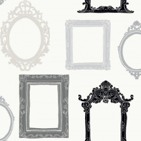 Vintage Picture Frames Wallpaper