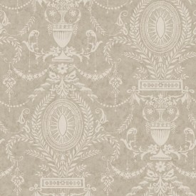 Neoclassical Urn Wallpaper