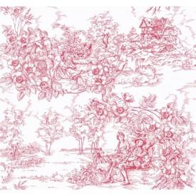 Arboreal Toile Wallpaper
