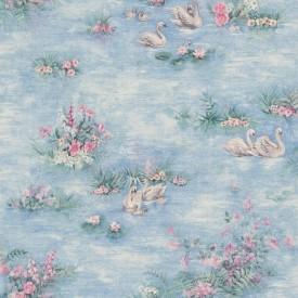 Swans Textured Wallpaper