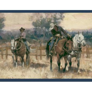Horse Roundup Border