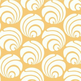 Large Circle Swirl Geometric Wallpaper
