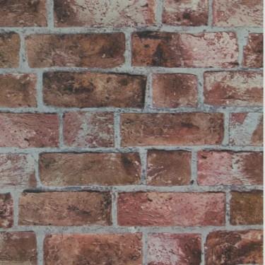 He1044 Brick Wall Textured Wallpaper Discount Wallcovering