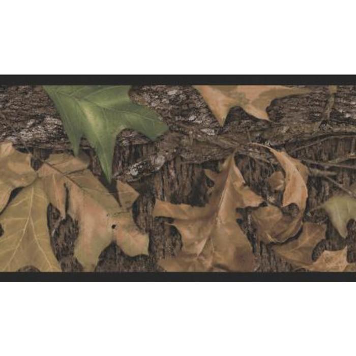 Rmk1070bcs mossy oak breakup peel and stick border for Cheap stick on wallpaper