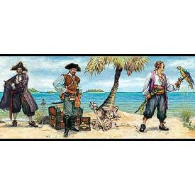 Pirates Peel and Stick Border