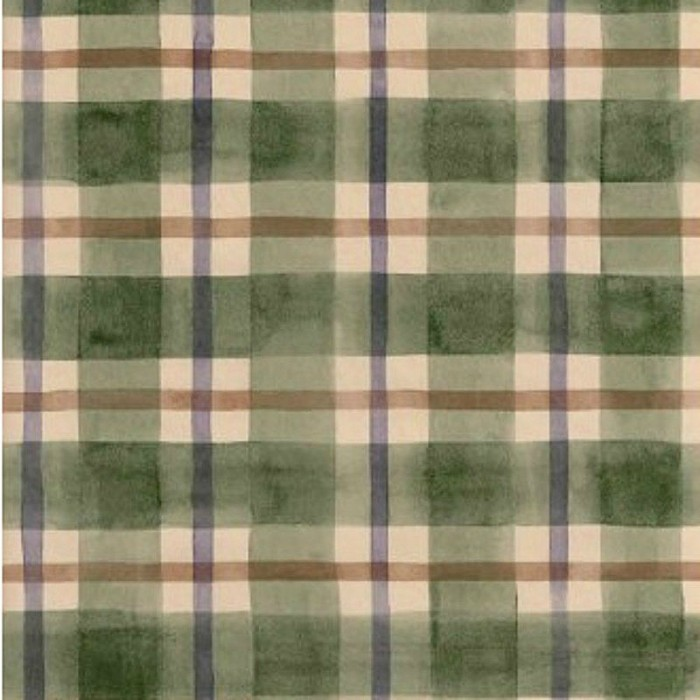Ig30233 Green Purple Amp Brown Plaid Wallpaper Discount