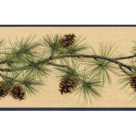 Pine Cones Border