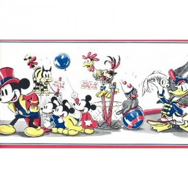 Mickey At The Circus Border
