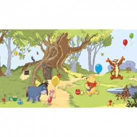 Pooh & Friends Mural