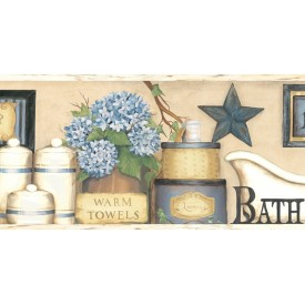Country Bath Border
