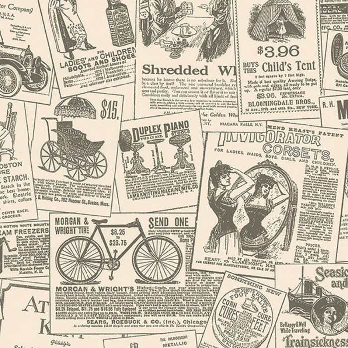 Vintage Newspaper Ads WallpaperVintage Newspaper Ads