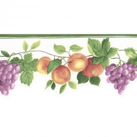 Narrow Fruit Die-Cut Border