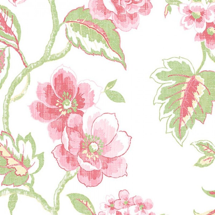 Ab42439 Jacobean Floral Wallpaper Discount Wallcovering