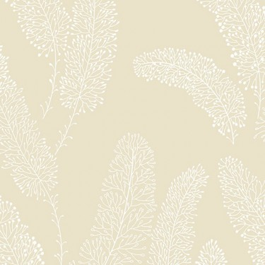 Coral Branches Wallpaper