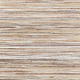 Fine Natural Raw Jute On Silver Foil Grasscloth Wallpaper