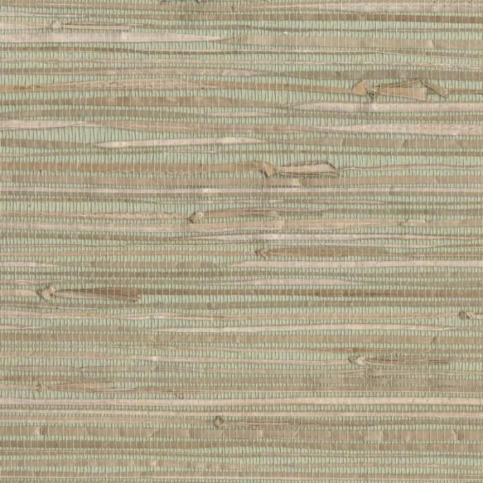 Modern Wallpaper Sage Green Metallic Faux Grasscloth: NZ0780-Natural Sea Grass Grasscloth Wallpaper-Discount