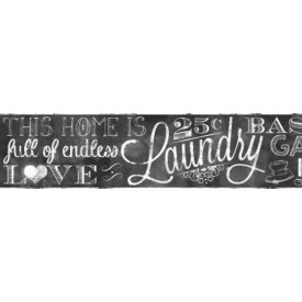 Laundry Chalkboard Border