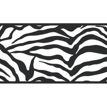 Zebra Print Border