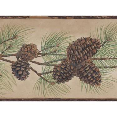 Pine Cone Branch Border