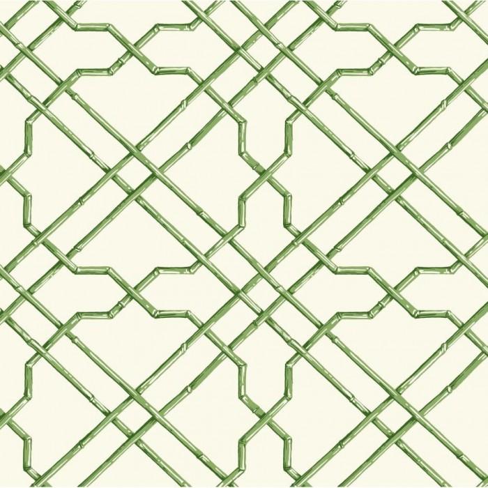 Yellow Trellis Wallpaper: AT7075-Bamboo Trellis Wallpaper-Discount Wallcovering