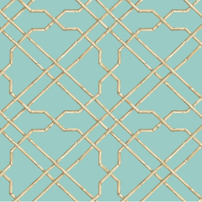 Lattice Wallpaper: Discount Wallcovering-Bamboo Trellis Wallpaper-ATR002