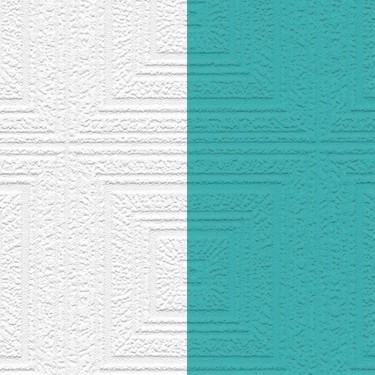 Paintable Concentric Squares Wallpaper