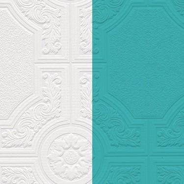 Paintable Decorative Tile Wallpaper