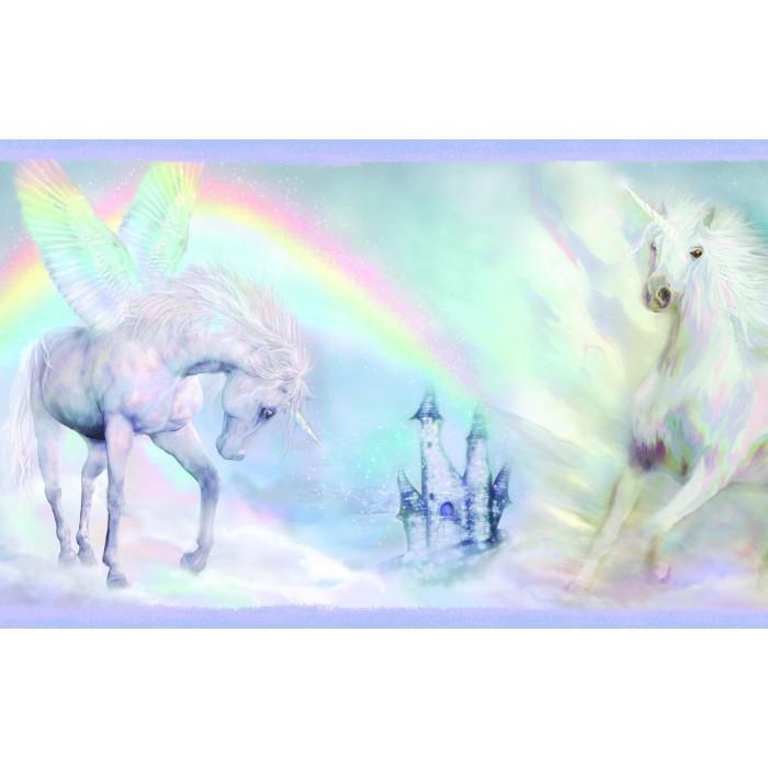 Discount Wallcovering Unicorn Dreams Border Bbc134