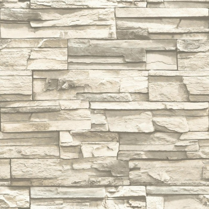Rmk9026wp Peel Amp Stick Stacked Stone Wallpaper Discount
