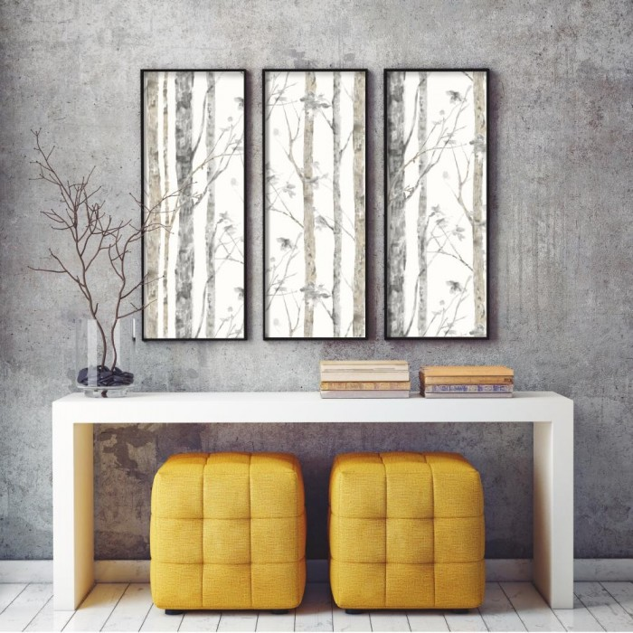 Rmk9047wp peel stick birch trees wallpaper discount - Best peel and stick wallpaper ...