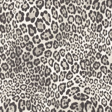 Leopard Print Textured Wallpaper