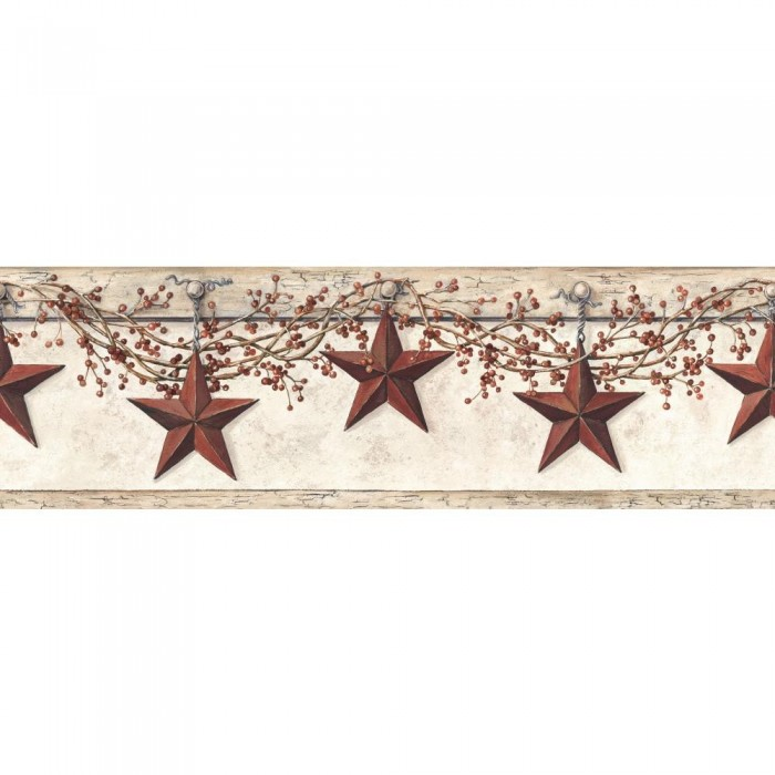 Discount Wallcovering Hanging Star Border Bpy143