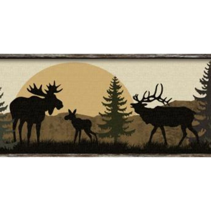 Lm7946bd Scenic Silhouette Border Discount Wallcovering