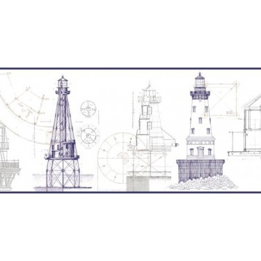 Architectural Lighthouse Border