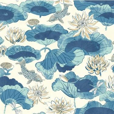 Lotus Lake Wallpaper