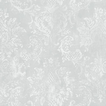 Discount WallcoveringPineapple Pattern Damask WallpaperSDN017