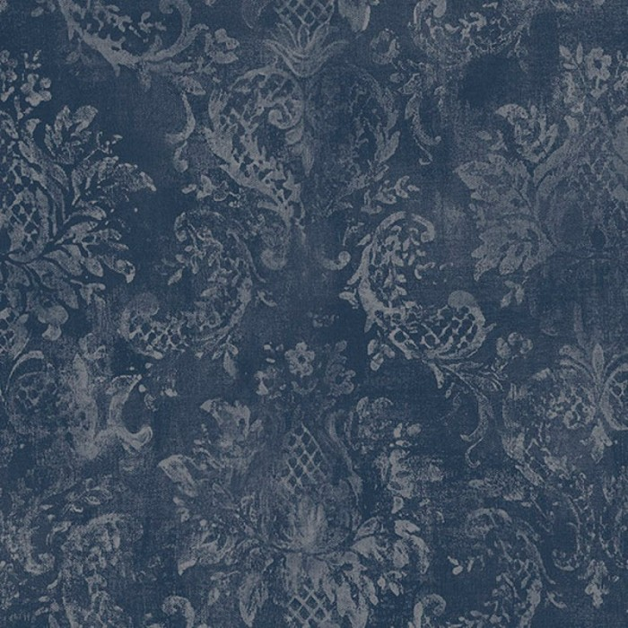 Sd36101 Pineapple Pattern Damask Wallpaper Discount