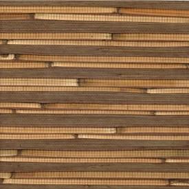 Natural Bamboo Reed Grasscloth Wallpaper