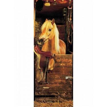 Pony Time Door Mural