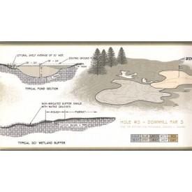 Palmer Golf Course Design Border
