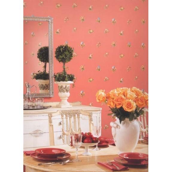 Floral Toss Wallpaper