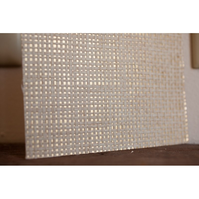 Mpc039 Natural Paper Weave On Gold Foil Grasscloth Wallpaper Discount Wallcovering