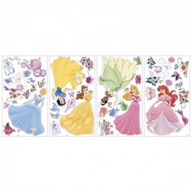 Disney Princess Wall Decals With Gems