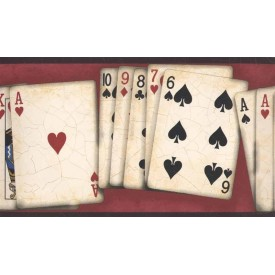 Poker Hands Border