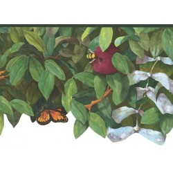 Apple Tree & Insects Die Cut Border