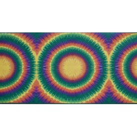 Large Tie-Dye Border