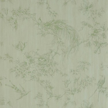 Gainsboro Toile Wallpaper