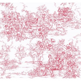 Arboreal Toile Wallpaper